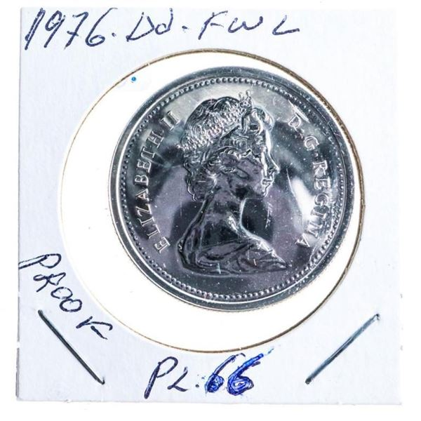 1976 Canada Nickel Dollar FWL Proof PL66