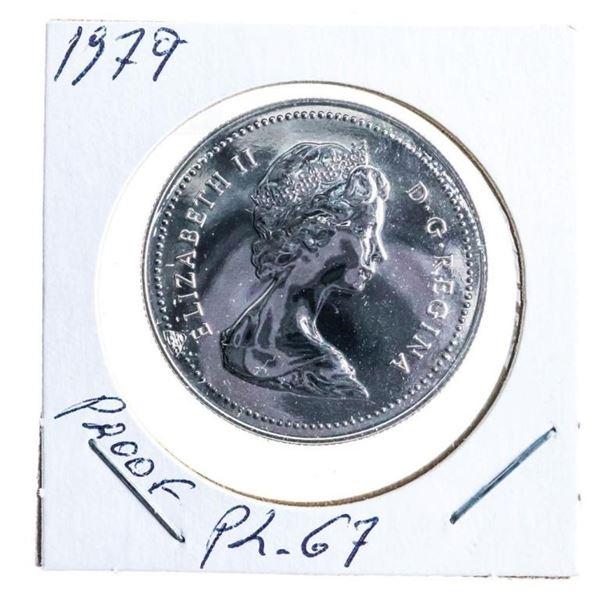 1979 Canada Nickel Dollar Proof PL 67