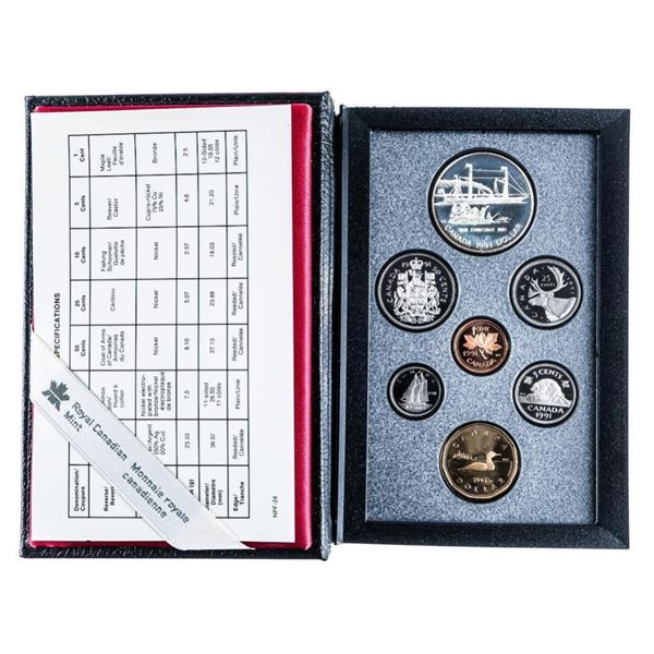 1991 RCM Proof Coin Set
