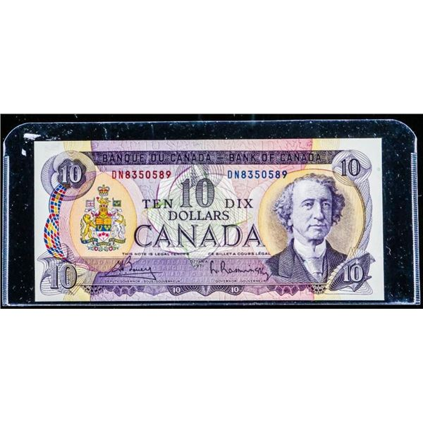 OLMSTEAD ORIGINAL Bank of Canada 1971 $10 UNC (DN)