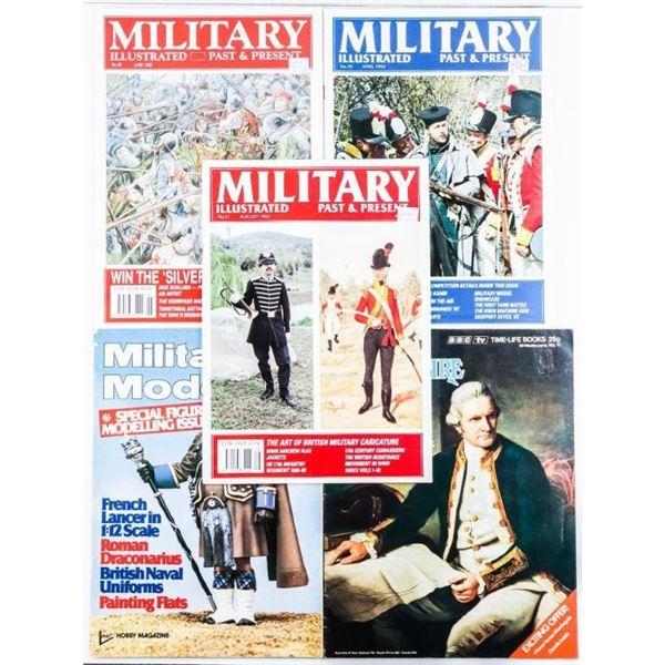 Lot of 5 Military Magazines - 3 x Illustrated -1 x  Modelling - 1 x British Empire