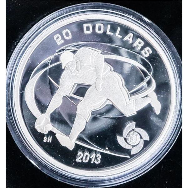 RCM 2013 Fine Silver $20 World Baseball Classic