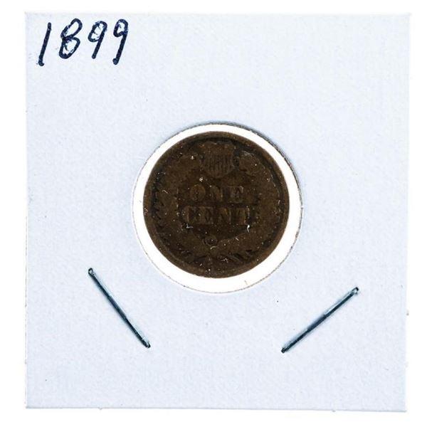 USA Indian Head Penny 1899