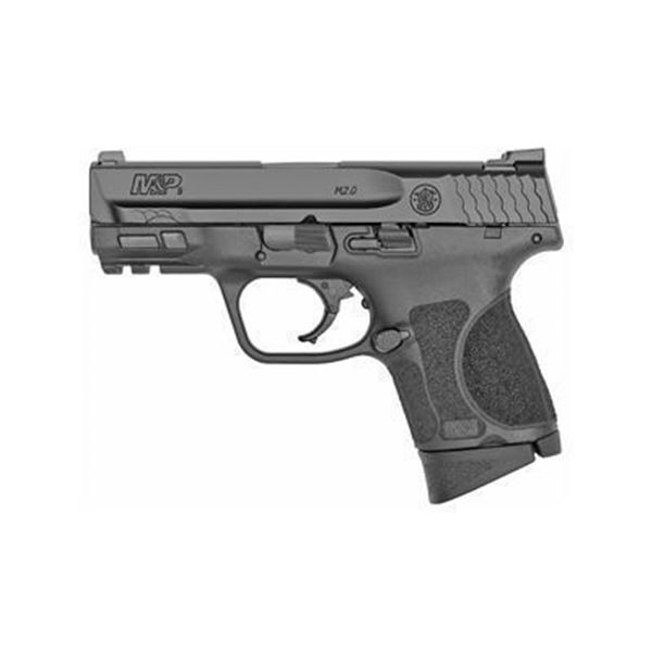 """S& W M& P 2.0 9MM 3.6"""" 12RD BLK NMS"""