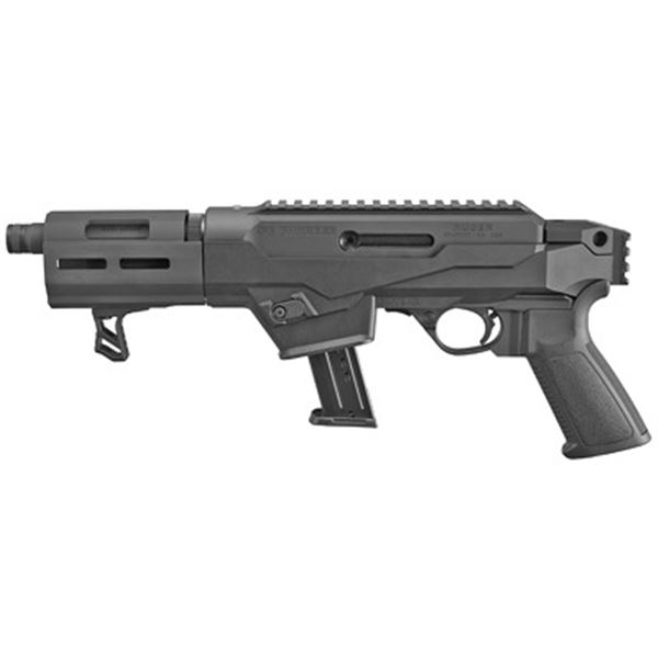 """RUGER PC CHARGER 9MM 6.5"""" BLK 17RD"""