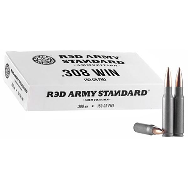 RED ARMY STD WHT 308 WIN - 20 Rds