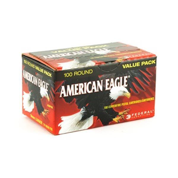 FED AM EAGLE 9MM 115GR FMJ - 100 Rds