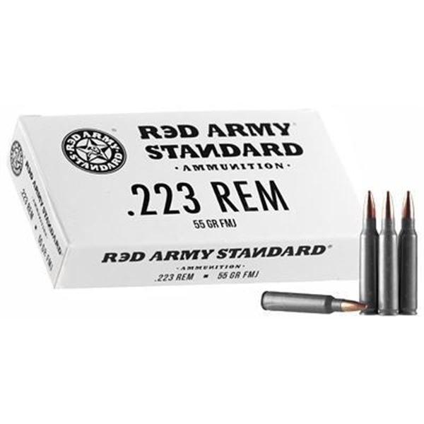 RED ARMY STD WHITE 223 - 120 Rds