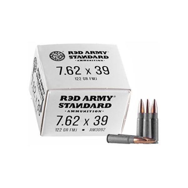 RED ARMY STD WHT 762X3 - 100 Rds