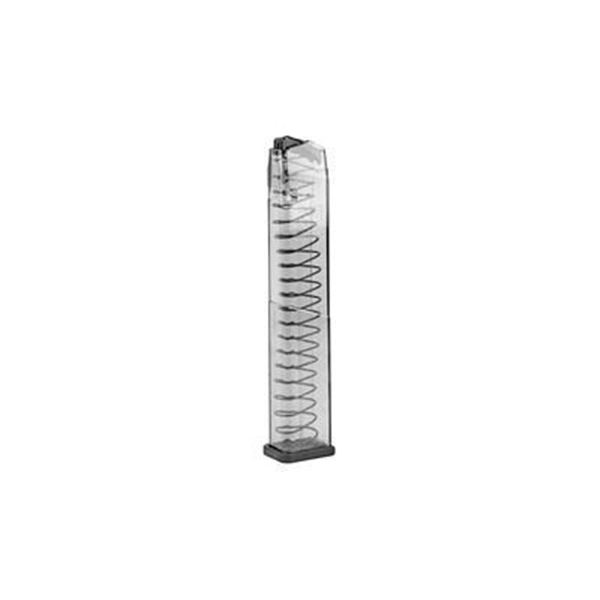 ETS MAG FOR GLK 10MM 30RD CLEAR