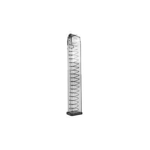 ETS MAG FOR GLK 45ACP 30RD CLEAR