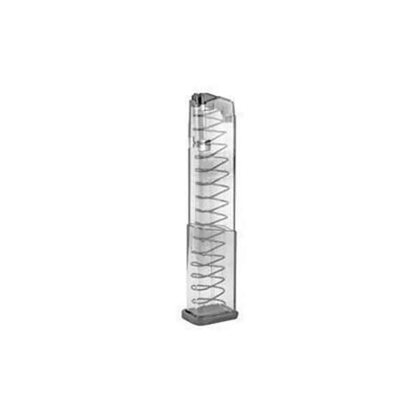 ETS MAG FOR GLOCK 43X 9MM 19RD CLEAR