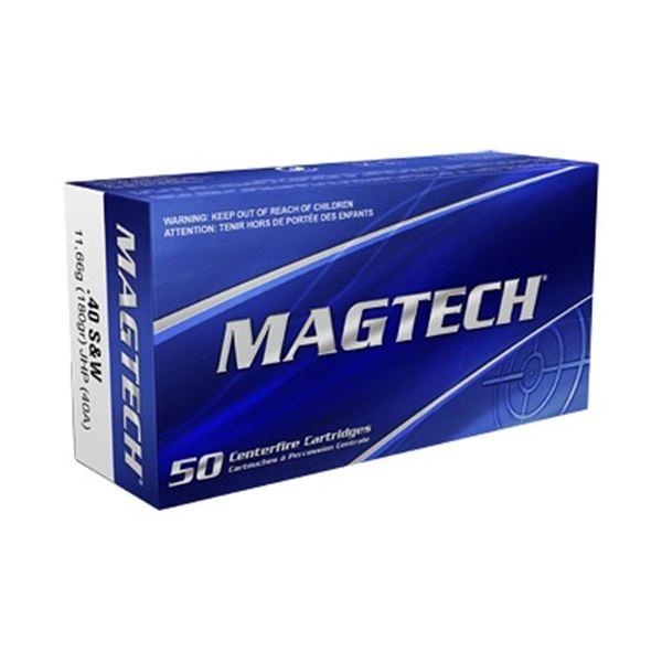 MAGTECH 40S& W 180GR JHP - 50 Rds
