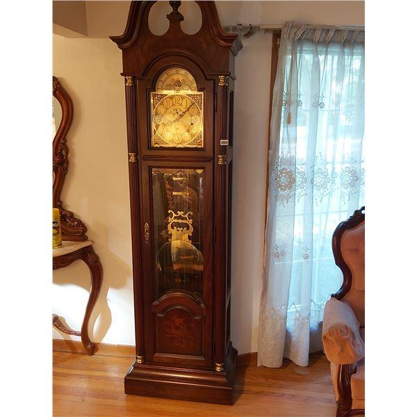 "Howard Miller Grandfather Clock 20.5""W x 86""H x 14""D"