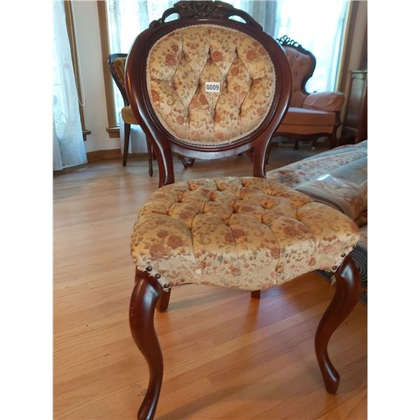 """Kimball Chair (Matches Lot #3) 19.5""""W x 37.75""""H x 17""""D"""