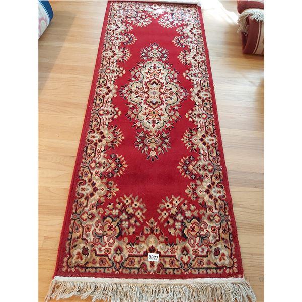 """Arakstan Deluxe Wool Carpet 70""""L 26.25""""W"""