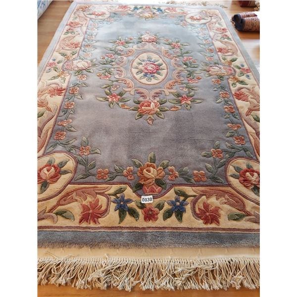 """Area Rug with Hooks for Hanging - Textured. 77""""L x 48""""W"""