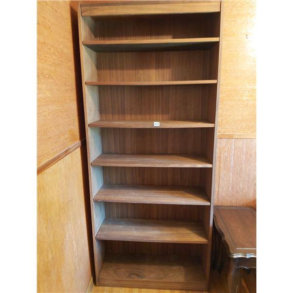 """Bookshelf 35.5""""W x 84""""H x 12""""D"""