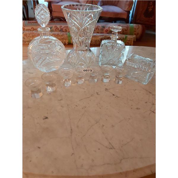 Bohemian Crystal - 10 Pieces