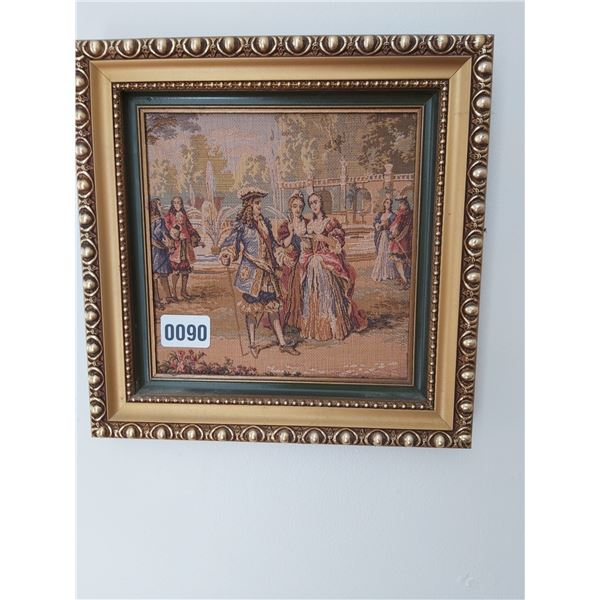 """Fountain Gathering Tapestry 11.25""""W x 11.25""""H"""
