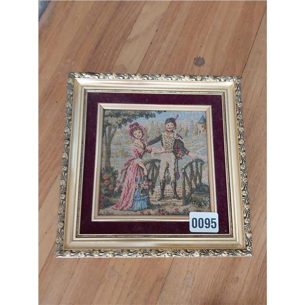 "Tapestry 9.5""W x 9.5""H"