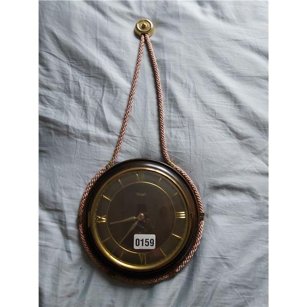 "Kienzle Wall Clock 10"" Diameter 22""H"
