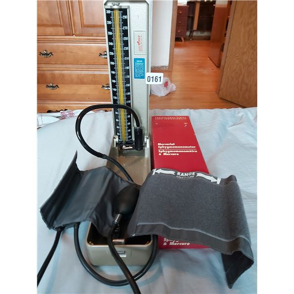 Mercurial Sphygmomanometer - Blood Pressure Machine