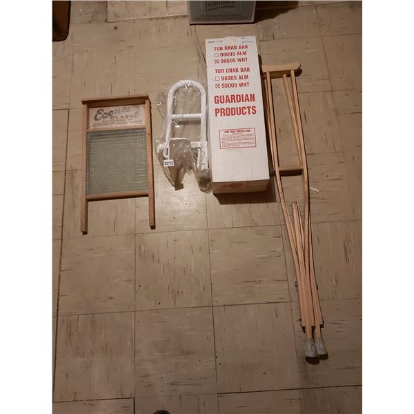 Vintage Washboard - Crutches