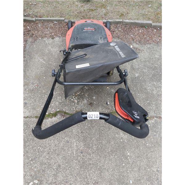 "B+D 19"" Mulching Electric Lawn Mower"