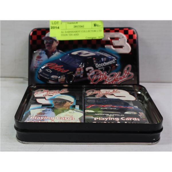 DALE EARNHARDT COLLECTOR LTD EDITION TIN AND
