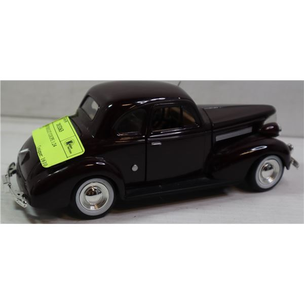 1939 CHEVEROLET COUPE 1:24 SCALE