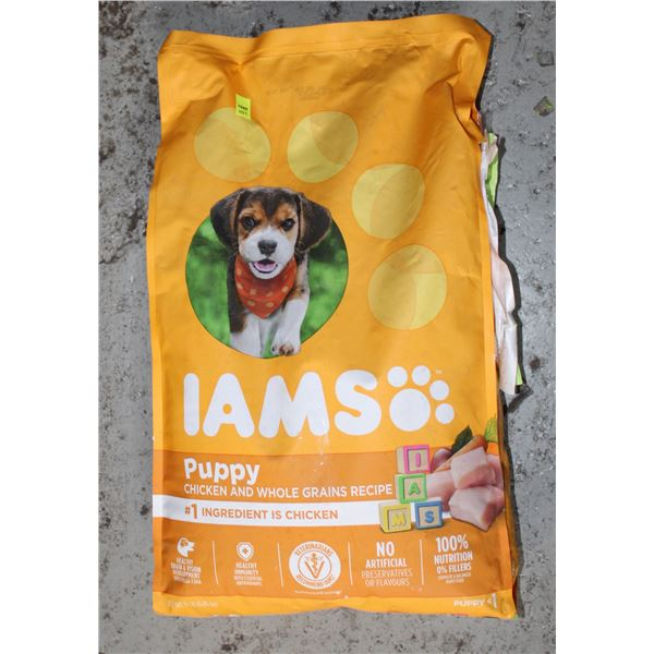IAMS PUPPY FOOD 6.3KG