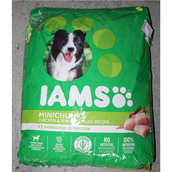 IAMS DOG FOOD 13.61KG