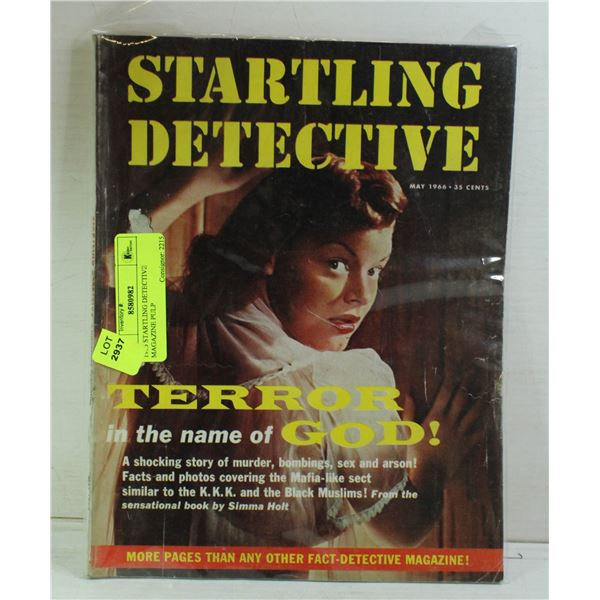 1966 STARTLING DETECTIVE MAGAZINE PULP