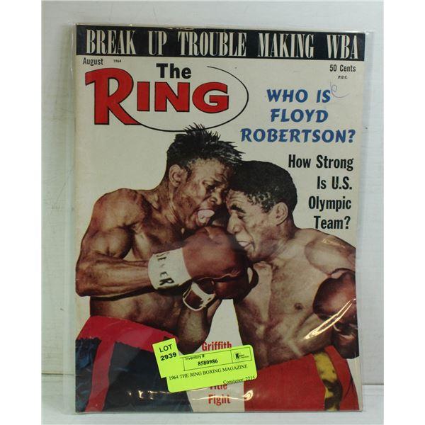 1964 THE RING BOXING MAGAZINE