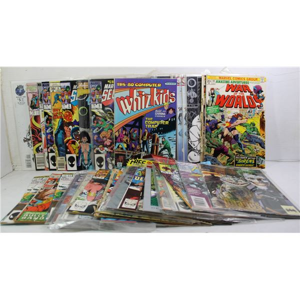 STACK OF COLLECTOR COMICS KEY ISSUES