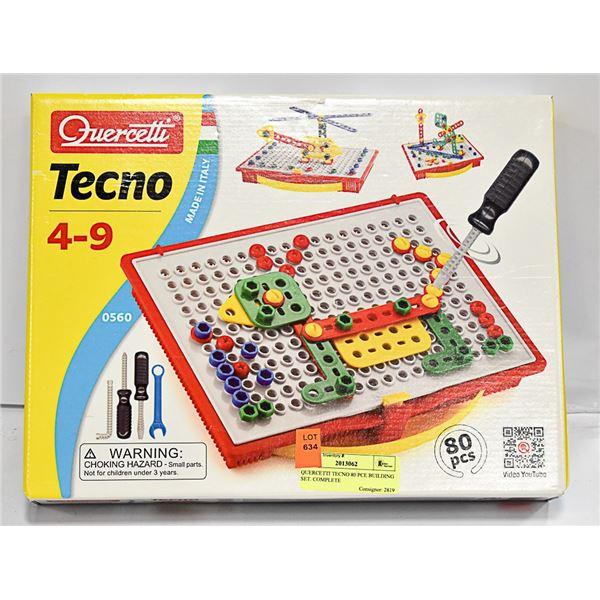 QUERCETTI TECNO 80 PCE BUILDING SET. COMPLETE