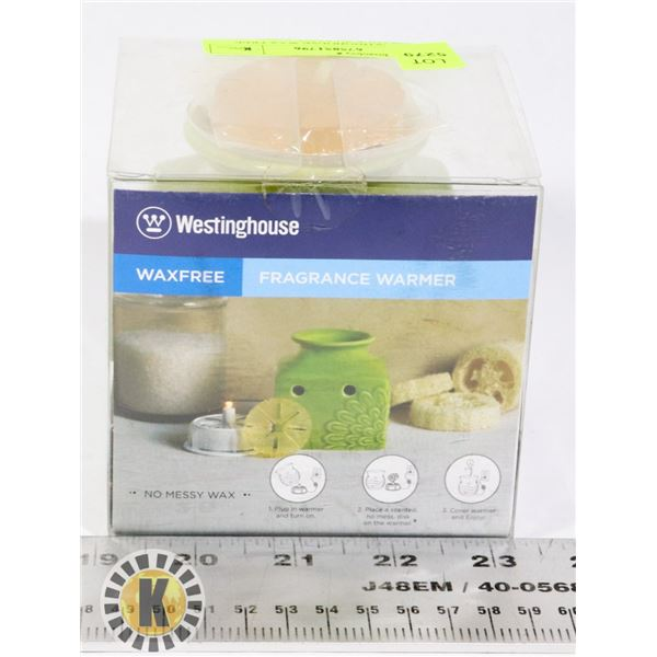 NEW WESTINGHOUSE WAX FREE FRAGRANCE WARMER