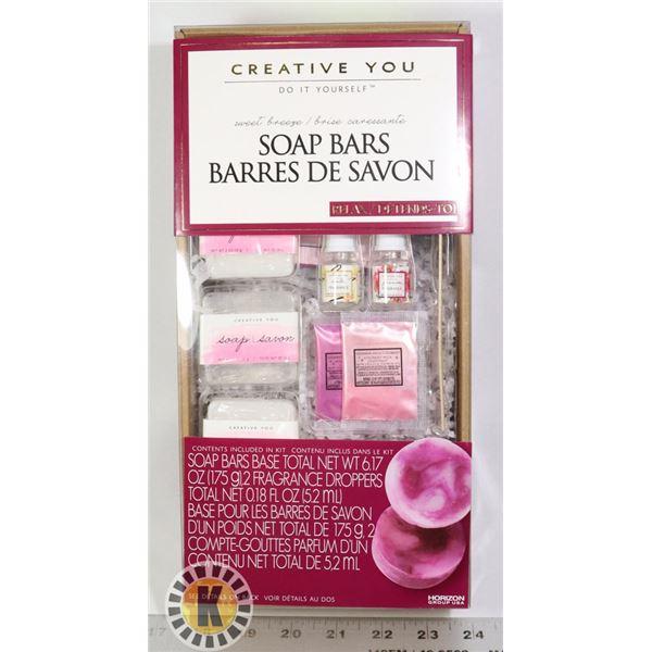 NEW CREATE SOAP BARS KIT
