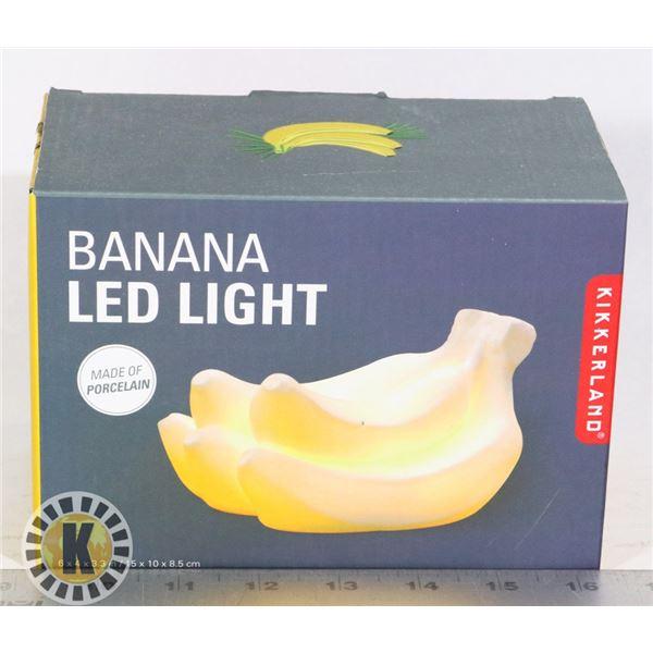 NEW BANANA SHAPED LED PORCELAIN LIGHT