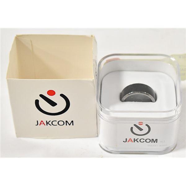 JAKCOM SMART RING R3 BLACK SIZE 9