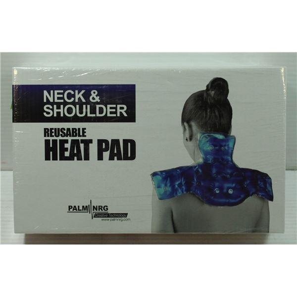 BRAND NEW NECK & SHOULDER REUSABLE HEAT PAD