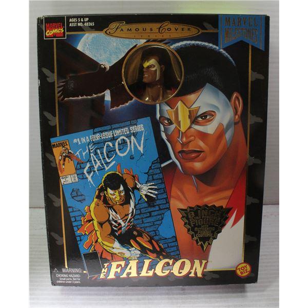 "TOY BIZ MARVEL COMICS FAMOUS COVERS THE FALCON 8"""