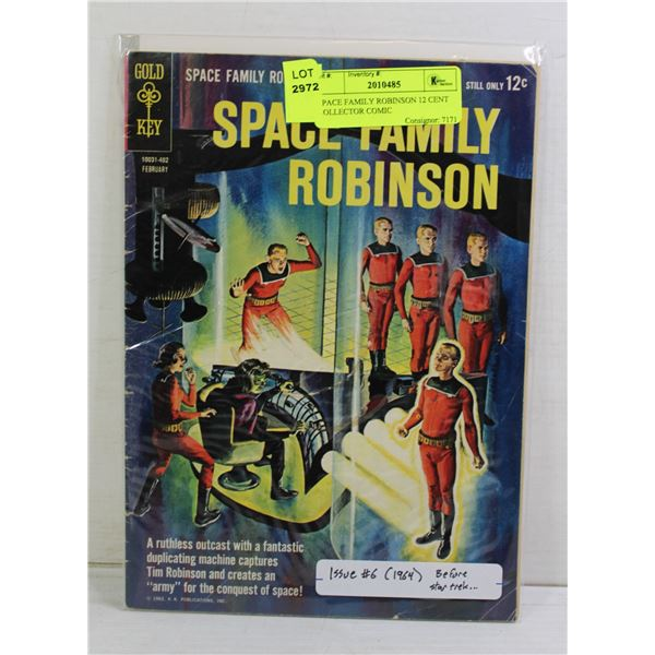 SPACE FAMILY ROBINSON 12 CENT COLLECTOR COMIC