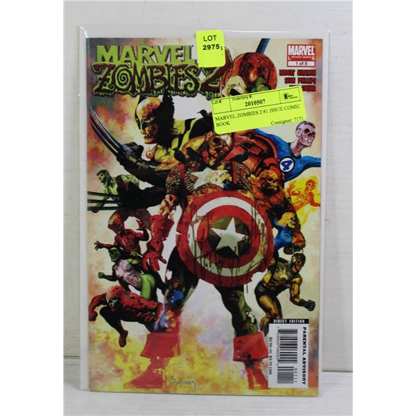 MARVEL ZOMBIES 2 #1 ISSUE COMIC BOOK