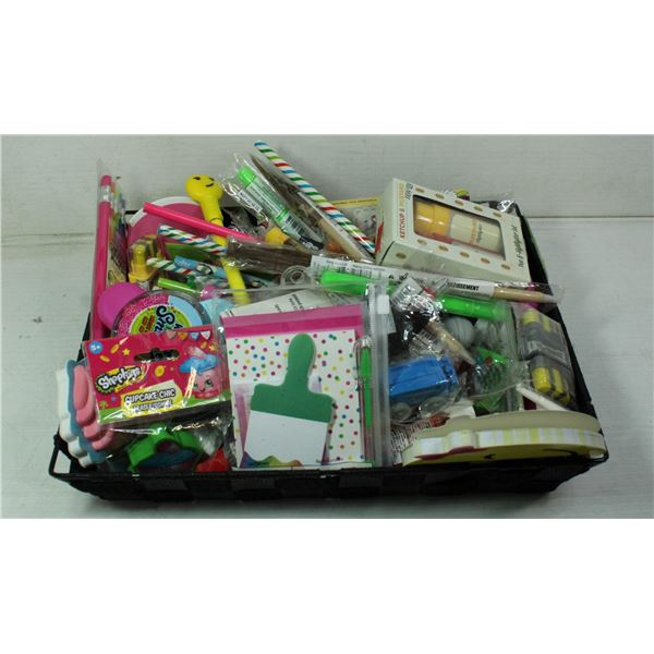 PENCILS, HIGHLIGHTERS,ERASERS,NOTE PADS & MORE
