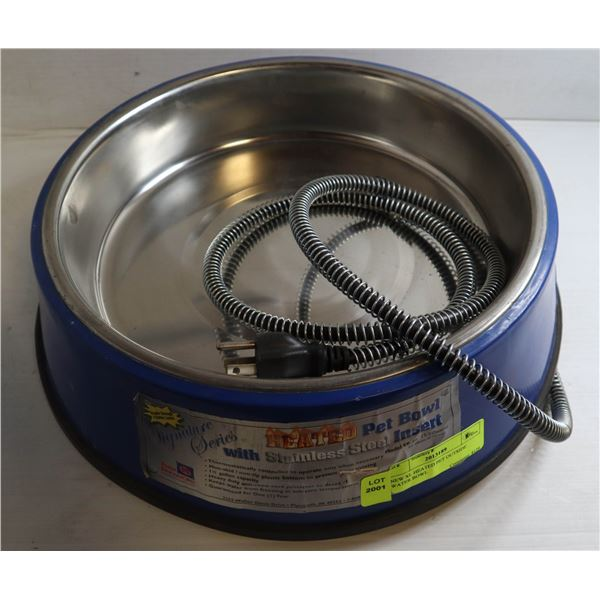 NEW XL HEATED PET OUTSIDE WATER BOWL