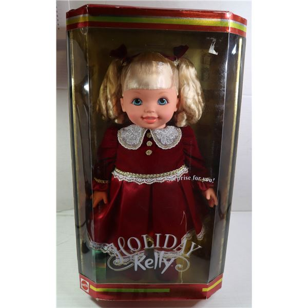 VINTAGE NEW IN BOX HOLIDAY KELLY LARGE DOLL