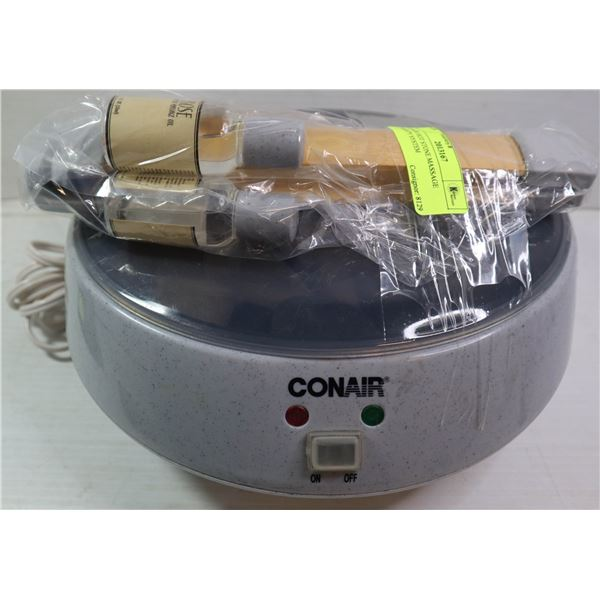 CONAIR HOT STONE MASSAGE THERAPY SYSTEM