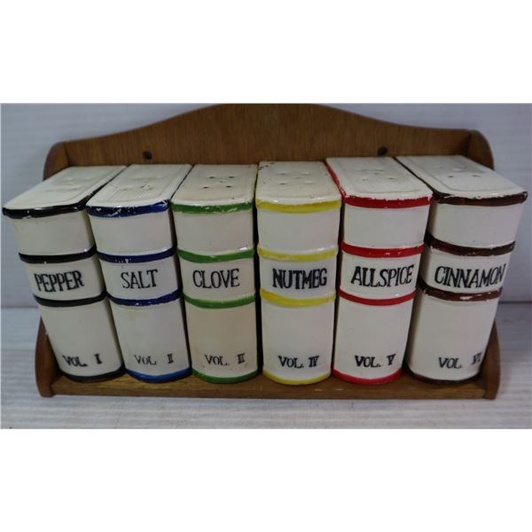 UNIQUE BOOK THEME CANISTERS